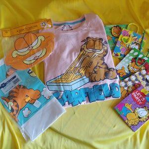 🏷 Garfield 🎈🎉🎂 Birthday Party Bundle & 👕 NWT